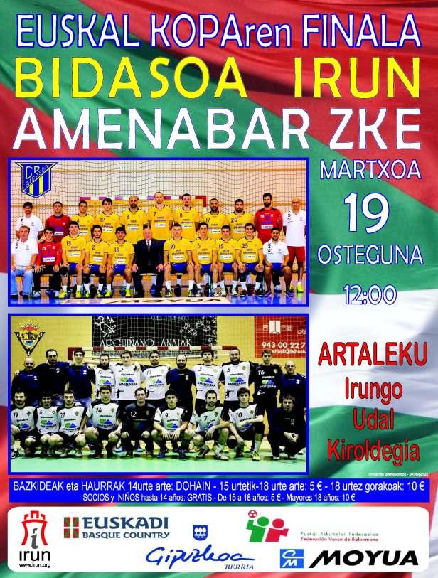 Final Copa Euskadi Masculina Irun(1)